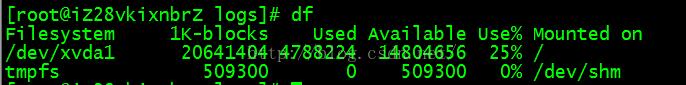 CentOS,no,space,left,on,device错误