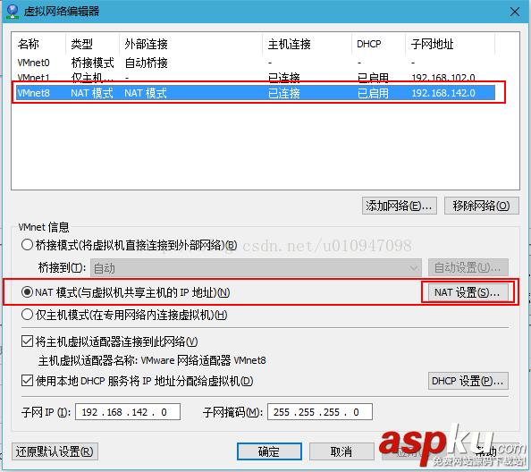 vmware虚拟机端口映射,ubuntu虚拟机ip地址